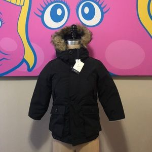Gap Kids Black Down Filled Coat NWT